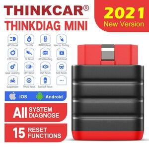 Image 1 - Thinkcar Thinkdiag Mini OBD2 Scanner Bluetooth professionale OBD 2 Scanner automobilistico 15 Reset servizio strumento diagnostico Easydiag