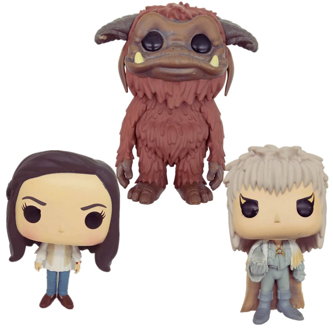 Labyrinth Ludo Sarah Jareth Movies Action Figure Collectibles Vinyl Doll Model Toy Gifts Original Loose No Box
