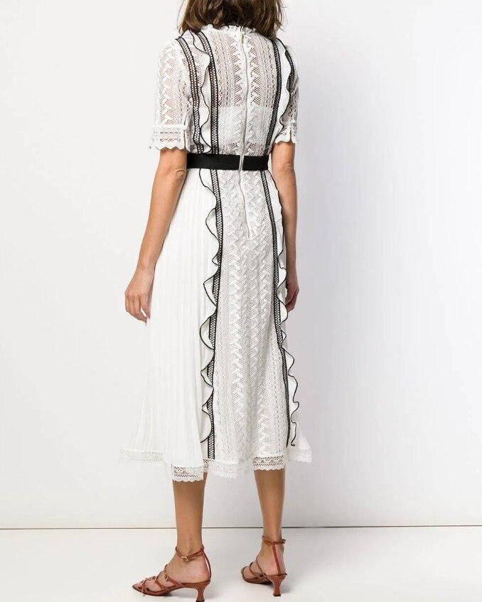 2019 Nuovo arriva abito bianco di alta qualità-in Abiti da Abbigliamento da donna su  Gruppo 2