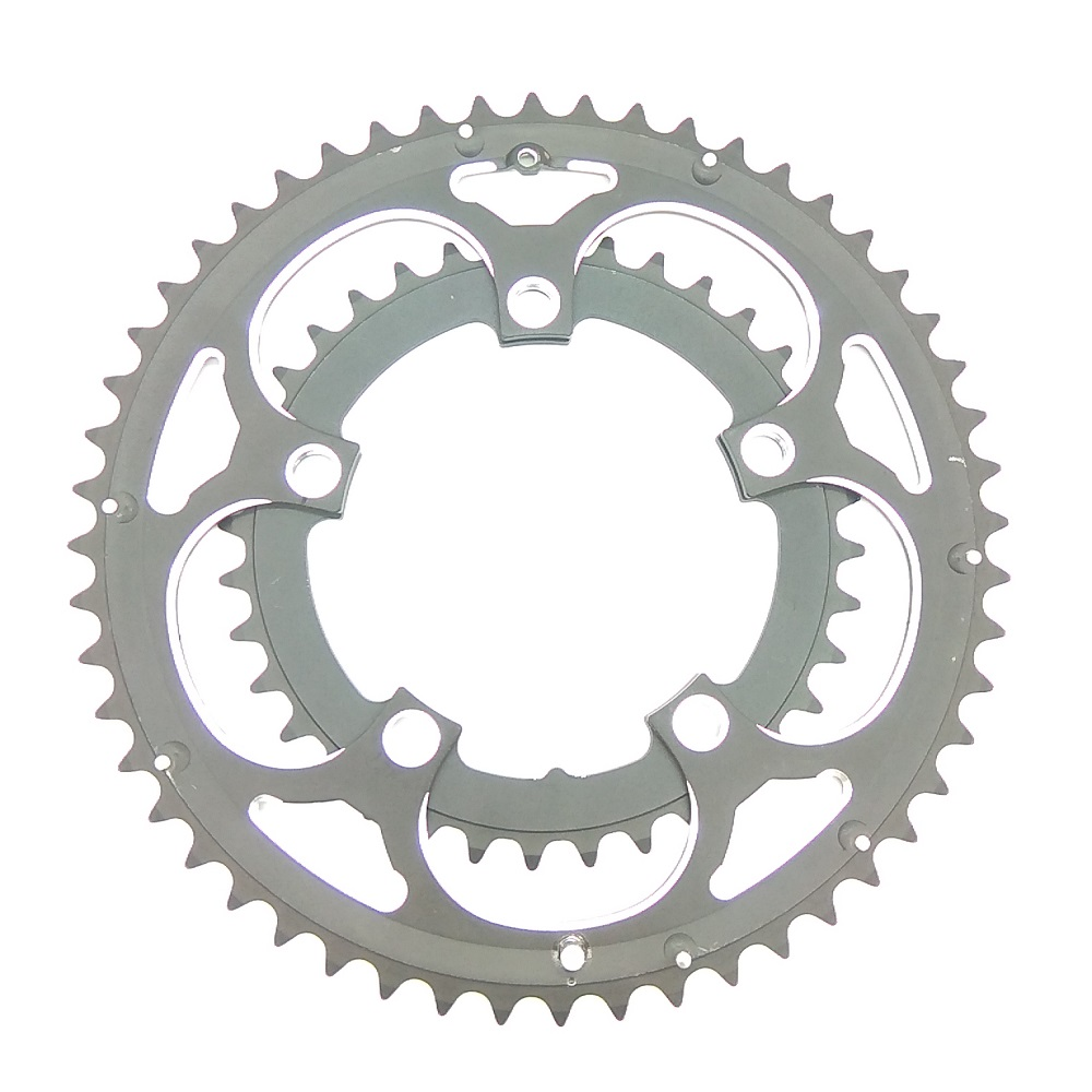 Image 3 - Chainwheel BCD110 56T 53T 52T 50T 48T 46T 44T 39T 38T 36T 34T Chainring Road Bicycle Folding Bike Chain rings CNC for Dual Disc-in Bicycle Crank & Chainwheel from Sports & Entertainment