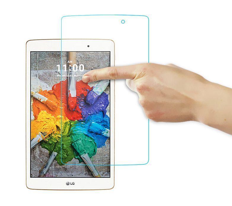 PET soft screen protector for LG G PAD V400 V700 V480 V495 VK815 V525 Scratch prevention Glass protector Film Tablet Screen Protectors     - title=
