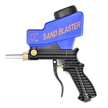 Portable Gravity Sandblasting Gun Pneumatic Set/Kit Rust Blasting Device Small Sand Machine