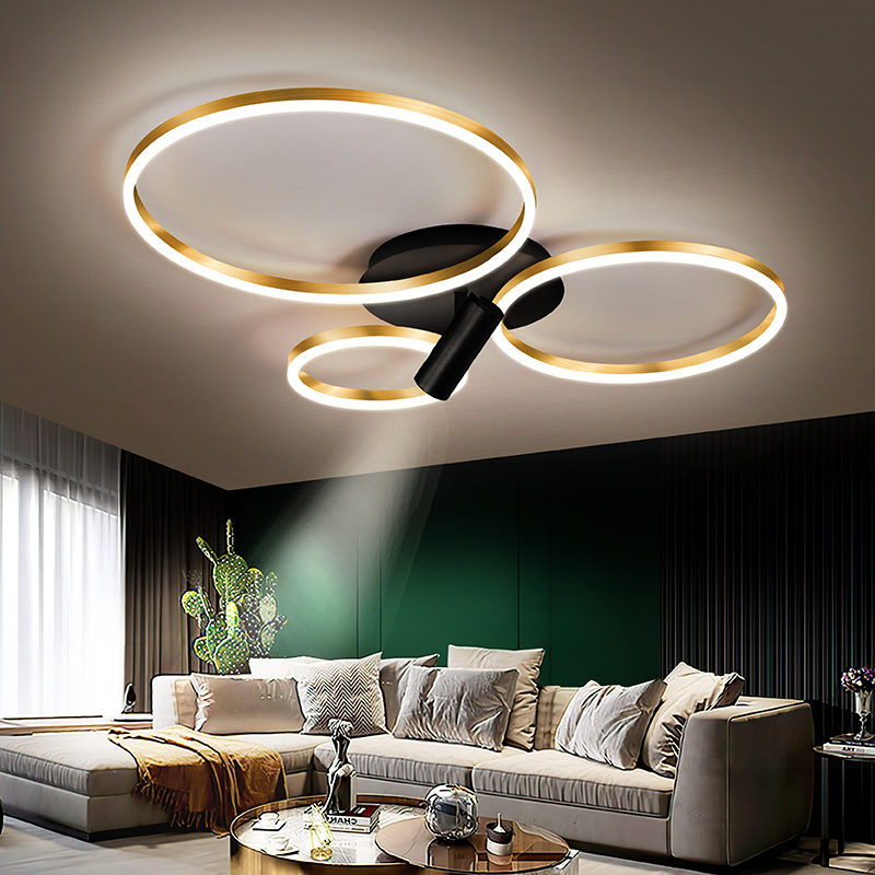 New Modern Led Chandelier For Living, Modern Led Chandeliers For Bedroom