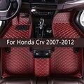 Кожаные автомобильные коврики в салон для Хонда сrv 2007 2008 2009 2010 2011 Пользовательские Авто накладки на ножках не оставят автомобильный коврик ...