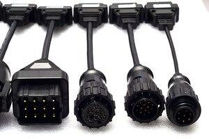 Image 5 - Linha diagnóstica do caminhão de 8 pces cabos do caminhão de autocom cdp ds150 delphi