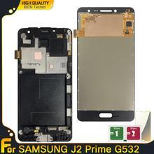 Do Samsung Galaxy J2 Prime G532 wyświetlacz LCD ekran dotykowy Digitizer zgromadzenie wyświetlacz LCD do Samsung J2 Prime G532 G532F g532M tanie tanio lianganbing Pojemnościowy ekran Nowy AMOLED 1280x720 3 J2 Prime G532 SM-G532 SM-G532F G532F LCD i ekran dotykowy Digitizer