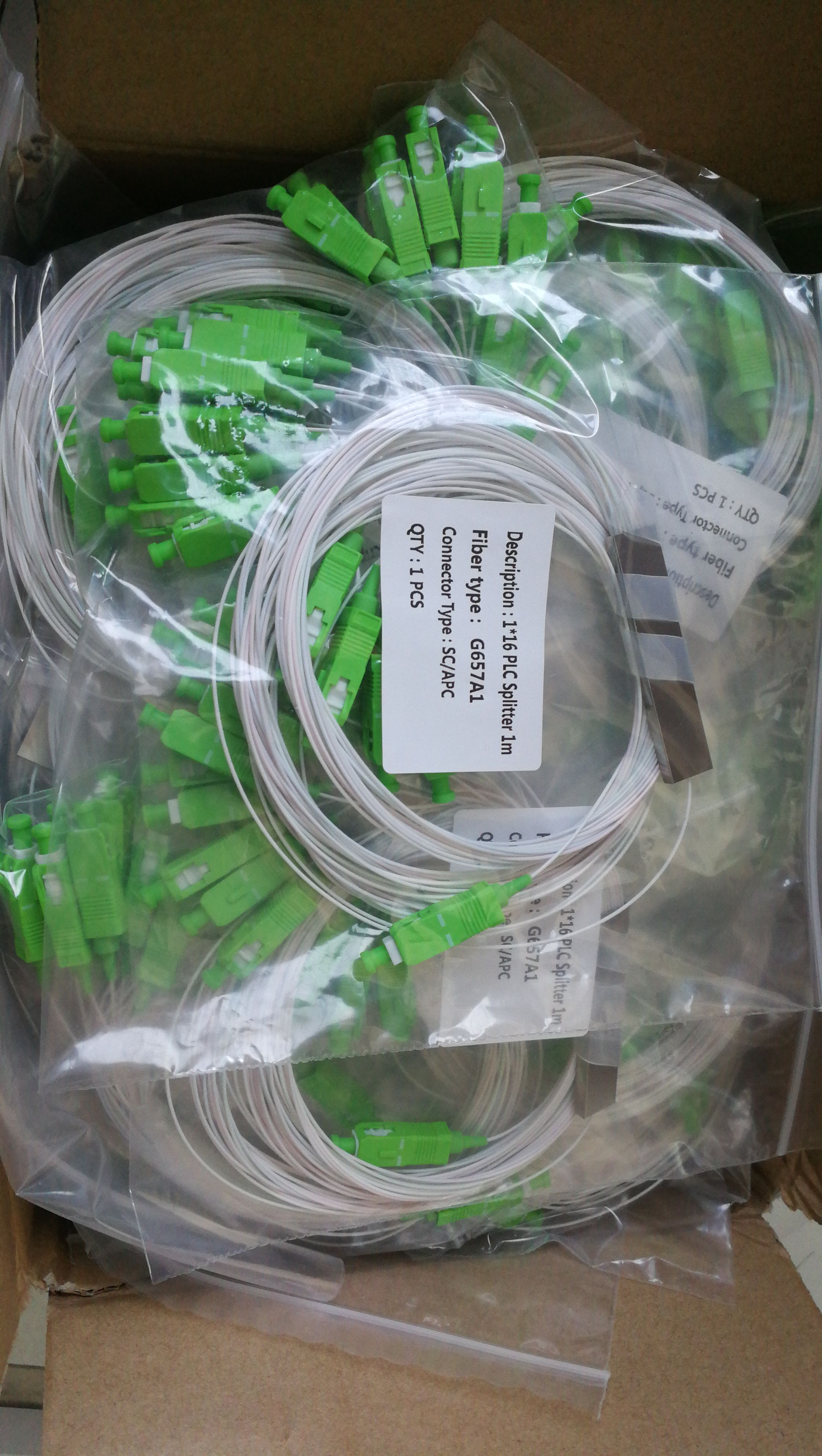 FTTH PLC Splitter 1X16/SC/APC SM 0,9mm G657A1 de PVC de 1m de fibra óptica divisor SC APC Tela de malla autoadhesiva de 5cm, 8cm, 10cm de ancho, herramientas de mosaico de fibra de vidrio blanca, junta de rejilla resistente a roturas, fibra de vidrio DIY para contrapunto