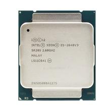 Intel Ксеон E5 2640 V3 процессор SR205 2,6 ГГц 8 ядро 90 Вт Разъем LGA 2011-3 Процессор E5 2640V3