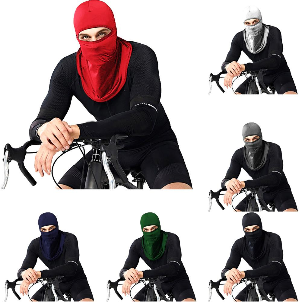 Outdoor Sport Cycling Dustproof Anti UV Sun Scarf Head Neck Face Cover Mask Soft Breathable Sun-proof Comfortable