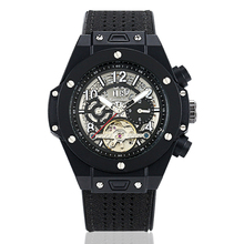 KIMSDUN Top Brand Mens Watch relogio masculino Leather Strap Tourbillon Automatic Mechanical Luminous Business watch men