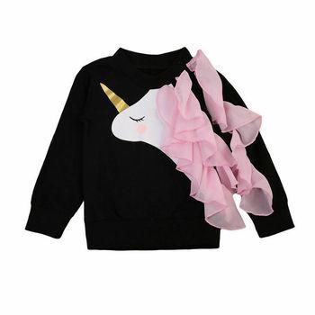 Unicorn Sweater Girl  Trendy 1
