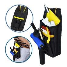 FOSHIO – sac doutils de voiture en vinyle, sac de rangement professionnel pour teinte de fenêtre, raclette, couteau, sac utilitaire, Oxford, pochette, organisateur de ceinture