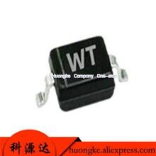 100 tela de seda BZT52C39S PÇS/LOTE WT 39 SOD-323 v diodo Zener