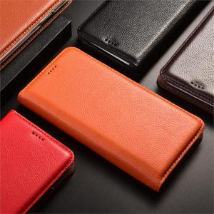 Image 5 - Litchi Pattern Genuine Leather Case For Sharp Aquos S2 S3 R3 R2 Sense 3 Zero 2 Lite Plus Mini Compact Flip Cover