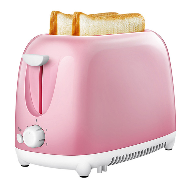 Easy to Clean Nonstick Sandwich Maker 2 Slice Wide Slot Toaster Home Automatic Breakfast Machine TN99 4