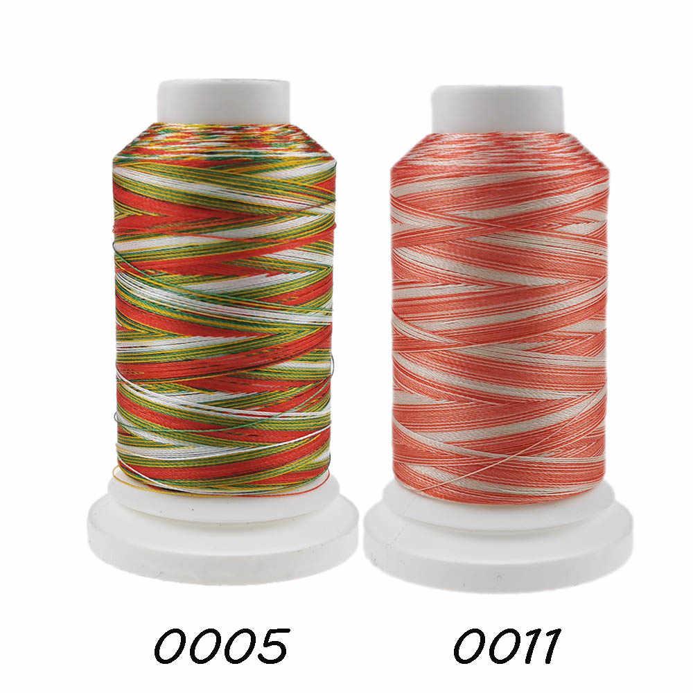 Sanbest barwne kolory nić poliestrowa do haftowania do maszyny 1000M maszyna do szycia w domu Factory Outlet
