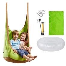 Hamac de jardin pour enfants, chaise suspendue d'extérieur, facile à transporter, pour voyage et Camping