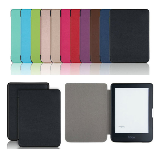 Slim Magnet Wake/Sleep Case for New Kobo Clara HD 6 Inch Ebook Smart Cover Ereader Skin Shell