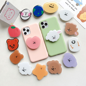Universal mobile phone bracket Cute 3D Animal airbag Phone Expanding Stand Finger Holder Stitch panda holder for phone Stand