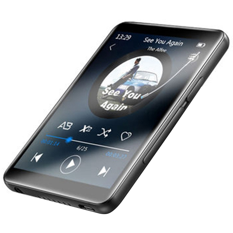 Hot Benjie X6 Mp3 Music Player Full Press Screen Mp4 Player With Fm Radio Video Player E-Book