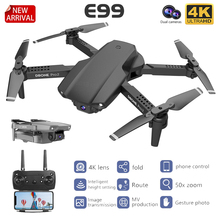 Drone Toys Camera Flip Foldable Quadcopter Wifi Fpv Rc Mini 1080P Aerial Dual 4K One-Key-Return