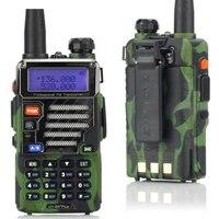 BF F8HP Walkie Talkie Dual Band VHF UHF UV 5R 5W Walkie Two Way Radio