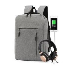 Мужской рюкзак для ноутбука 156 дюйма вместительный деловой