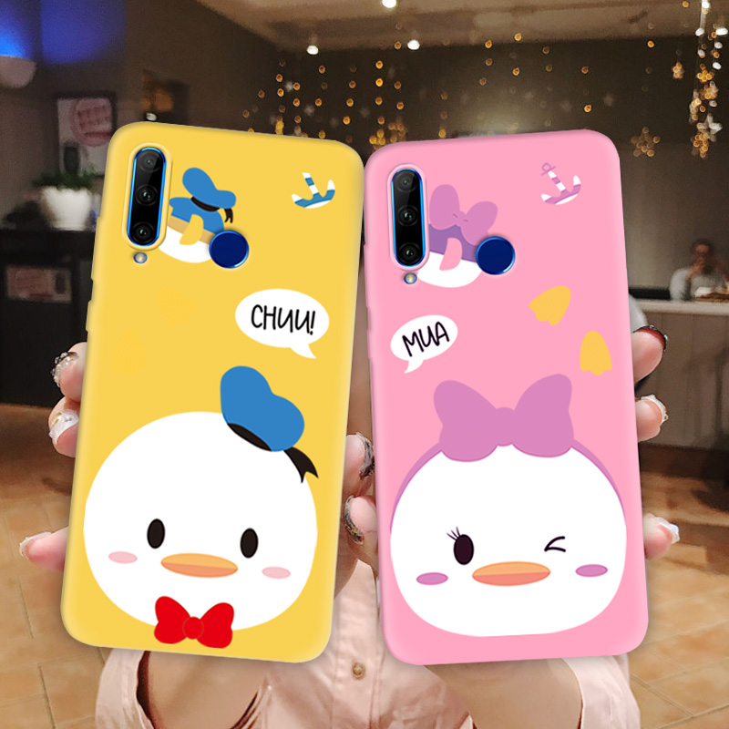 Multi Color Cute Ducky Phone Cover For <font><b>Huawei</b></font> <font><b>P30</b></font> Pro <font><b>P30</b></font> <font><b>Lite</b></font> Honor 5A Russia Nova 4e Y5 2 Y5 Y6 2017 Back Cover Soft TPU Funda image