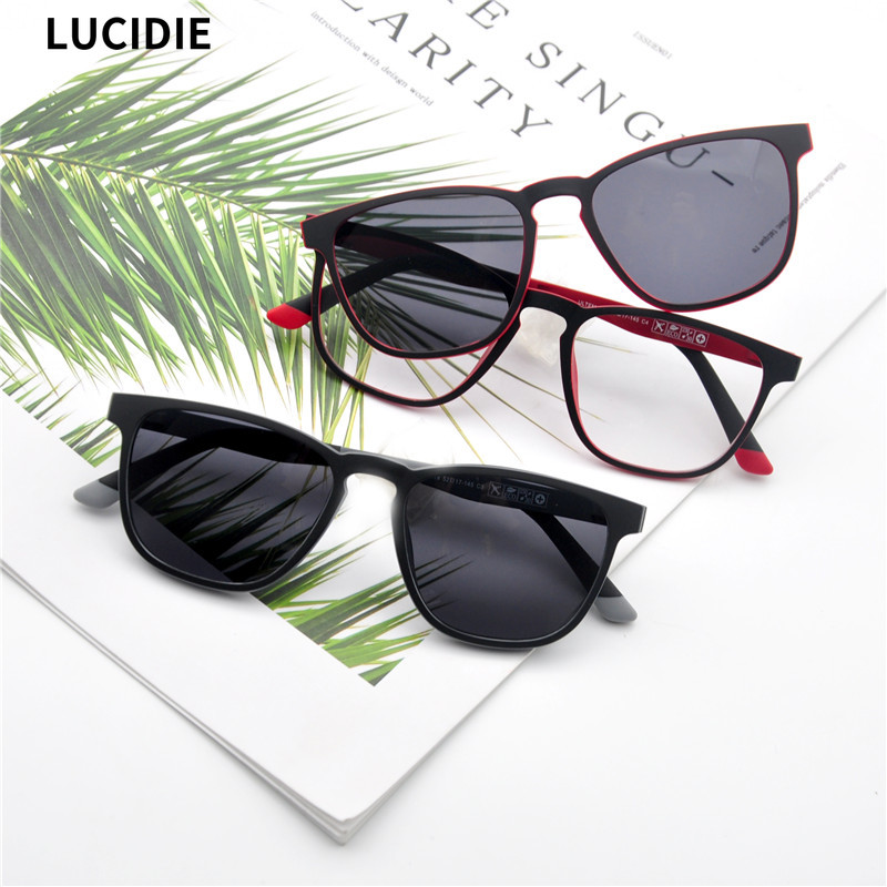 LUCIDIE 2020 New Magnetic Clip Ultra-Light Eyeglasse  1