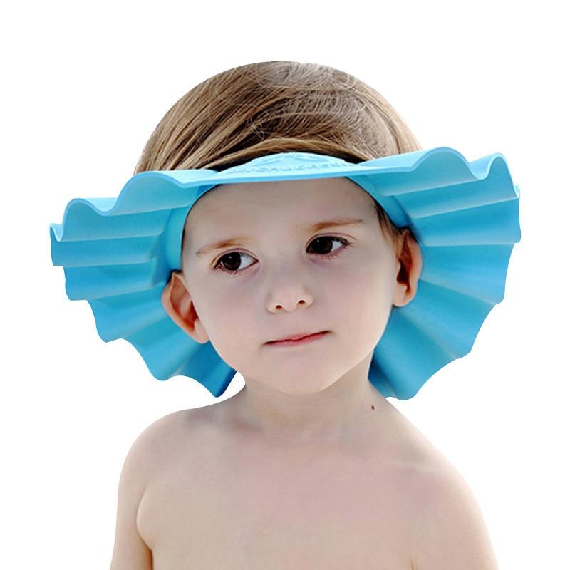 Baby Shampoo Cap Toddler Children Shower Adjustable Kids Bath Visor Head Baby Products Cheap Stuff Ear Protection