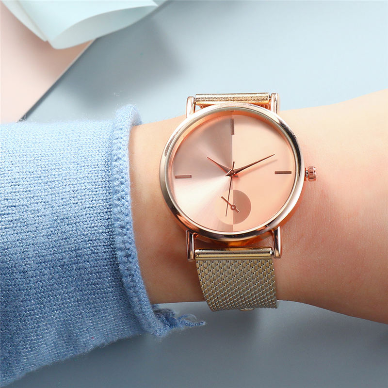 Hot Fashion Simple Style New Ladies Hook Buckle Alloy Watches Women Wristwatch Quartz Female Clock Gifts Relogios Feminino #DN