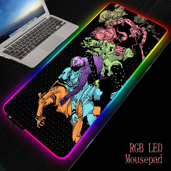 MRGBEST Gaming Mouse Pad Computer Gamer Mousepad Large Game Rubber No-slip Mouse Mat Anime Jojo Bizarre Adventures Mause Pad mrgbest beautiful anime fantasy forest non slip and durable rubber computer lockedge mat cartoon printing large game mouse pad