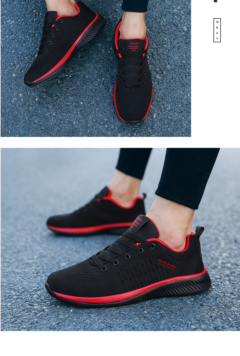 Hf229ff035bf242d1ace4f34bb657f7adw New Mesh Men Casual Shoes Lac-up Men Shoes Lightweight Comfortable Breathable Walking Sneakers Tenis masculino Zapatillas Hombre