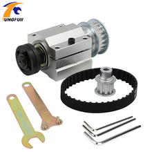 Power Tool Accessories Table Saw Spindle Assembly Miniature Woodworking Table Saw No Moving Spindle Seat Mini Cutting Machine
