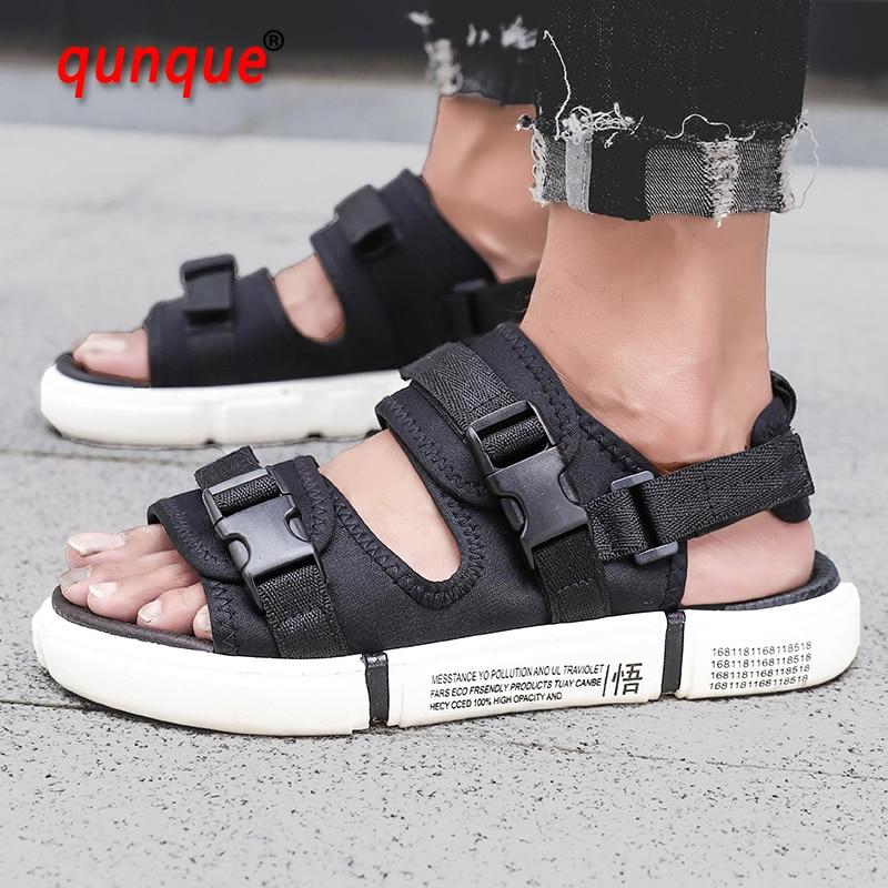 Hot Sale Couple Flats Casual Sandals Summer Men Rome Fashion Beach Flip Flops Sandals Walking Women Soft Slippers Plus Size36-45