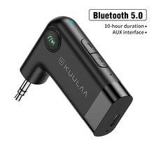 Récepteur et transmetteur Audio Bluetooth 5.0, Mini stéréo, adaptateur sans fil, USB, AUX, Jack 3.5mm, pour casque d'ordinateur et de voiture
