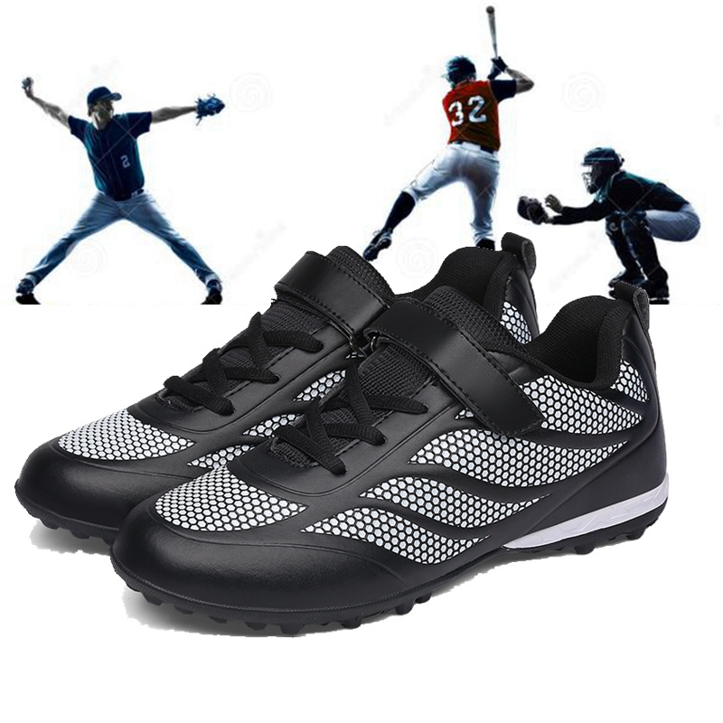 Kids professional football baseball shoes children Softball baseball broken nails sneakers boys girls students training shoes