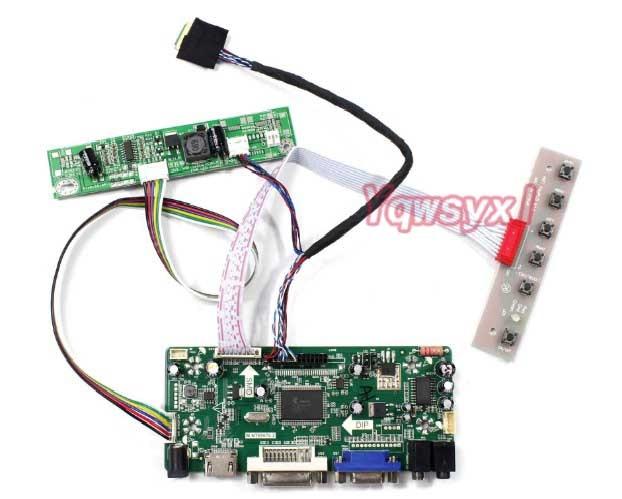 HDMI+DVI+VGA LCD Lvds Controller Driver Board Inverter Kit for LM230WF3 SLE1