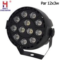 Led par 12x3 w luz dj rgbw luz música dmx512 para luzes de festa iluminação palco|Efeito de Iluminação de palco| |  -