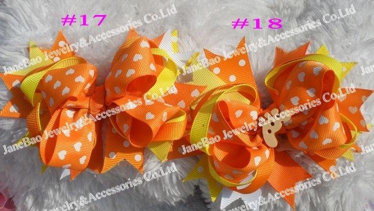 30 шт. 4,5 ''сладкий клубничный бант для волос новейшие популярные банты для волос аксессуары для волос для девочек