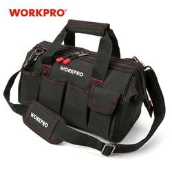 WORKPRO Waterproof Tool bag Travel Bags Men Crossbody Bag Tool Bags Large Capacity Free Shipping 4 size(12 14 16 18 inch)