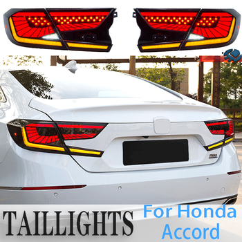 BERA BEAR Car Styling For HONDA Accord Taillights 2018-2019 LED Tail Light LED Lamp DRL+ Brake+Back-up+turn signal+Fog Lamp
