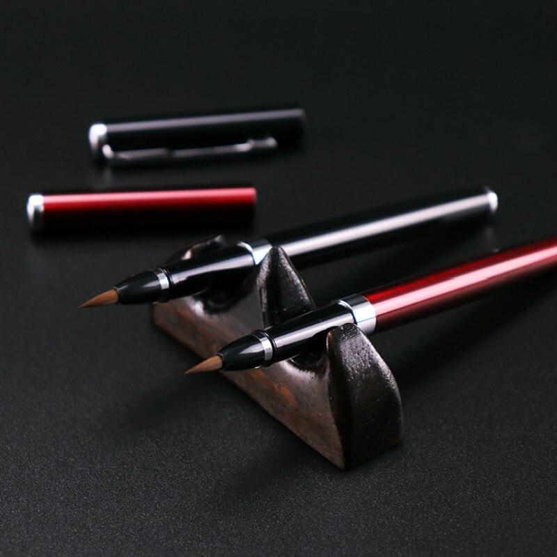 pinceis de escrita cabelo pintura chinesa caneta pincel caligrafia 05
