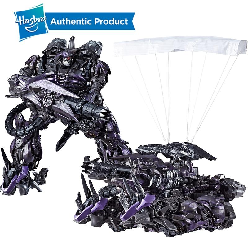 Hasbro Transformers Toys Studio Series 56 Leader Class Transformers Dark of The Moon Shockwave Action Figure Kids 8.5-inch