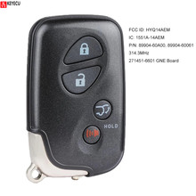 KEYECU 271451 6601 Smart Remote Key Fob für Lexus LX570 2008 2009 2010 2011 2012 2013 2014 2015 2016 FCCID: HYQ14AEM