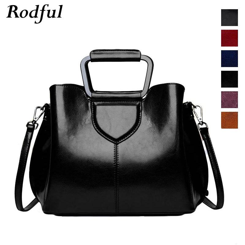 Fashion Luxury Ladies Shoulder Bag Women's Genuine Leather Handbags Female Vintage Casual China Hand Bags For Women Black Wine