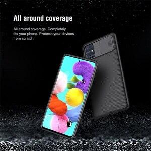 Image 4 - サムスンギャラクシー Samsung Galaxy A51 A71 ケース nillkin camshield スライドカメラカバープライバシークラシック三星 Samsung A51