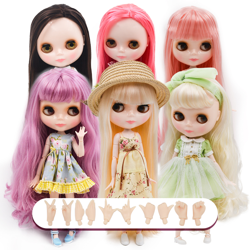 Blyth Doll BJD,Neo Blyth Doll Nude Customized Matte Face Dolls Can Changed Makeup And Dress DIY,1/6 Ball Jointed Dolls NO50
