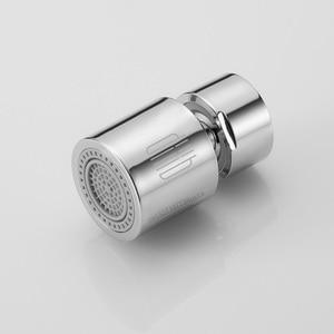 Image 2 - Youpin mutfak musluk havalandırıcı su difüzör Bubbler çinko alaşımlı su tasarrufu filtre memesi musluk bağlantısı çift modlu