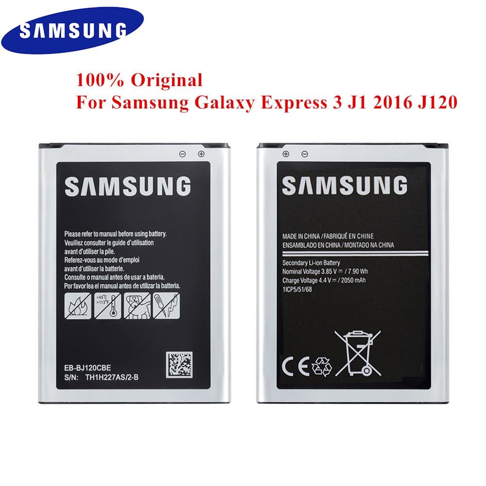 100% Original Bateria 3 J1 EB-BJ120CBE para Samsung Galaxy Express 2016 J120 SM-J120F J120A J120F/DS J120H J120DS J120T j120M